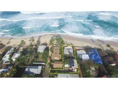 Single Family Home For Sale: 59-175b Ke Nui Road