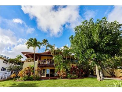 Honolulu Single Family Home For Sale: 120 Maono Place