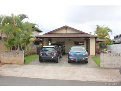Mililani HI Single Family Home For Sale: $760,000
