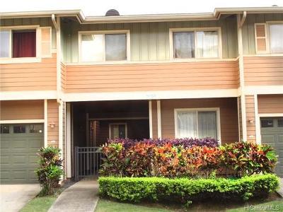 Kapolei Condo/Townhouse For Sale: 92-1121 Panana Street #206