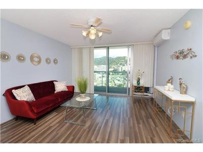Honolulu Condo/Townhouse For Sale: 1450 Young Street #1606