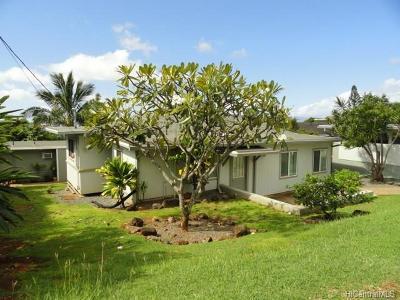 Aiea Single Family Home For Sale: 99-1149 Napuanani Road