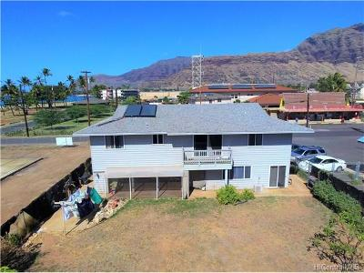 Single Family Home In Escrow Showing: 85-075 Waianae Valley Road