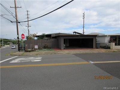 Single Family Home For Sale: 971 Luawai Street