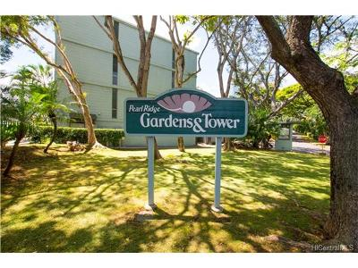 Condo/Townhouse For Sale: 98-1038 Moanalua Road #7-1406
