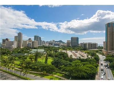 Honolulu Condo/Townhouse For Sale: 1860 Ala Moana Boulevard #1403