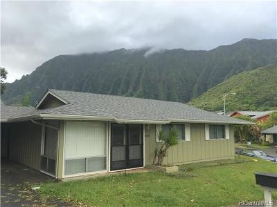 Kaneohe Rental For Rent: 47-492 Hui Io Street