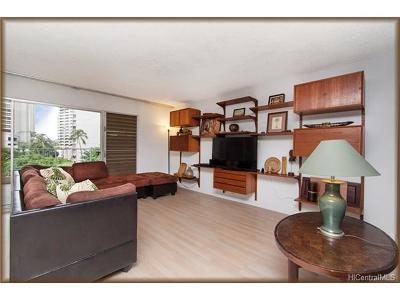 Honolulu Condo/Townhouse For Sale: 469 Ena Road #607