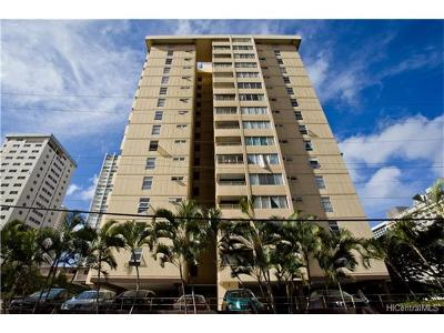 Honolulu Condo/Townhouse For Sale: 225 Kaiulani Avenue #403