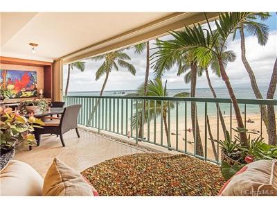 Condo/Townhouse For Sale: 2877 Kalakaua Avenue #107