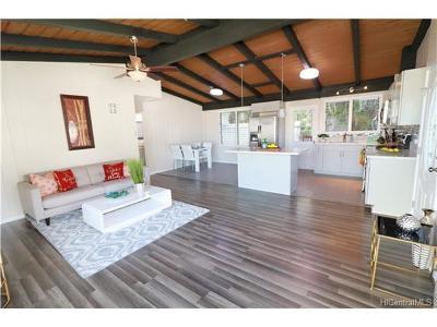 Kaneohe Single Family Home For Sale: 45-441 Kanaka Street