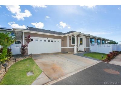 Kapolei Single Family Home For Sale: 801 Kakala Street #51