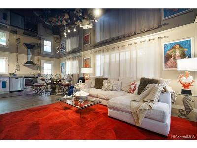 Honolulu Single Family Home For Sale: 1517 Spreckels Street #A