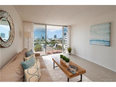 Honolulu Condo/Townhouse For Sale: 1050 Kinau Street #1105