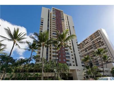 Honolulu Condo/Townhouse For Sale: 2740 Kuilei Street #1408