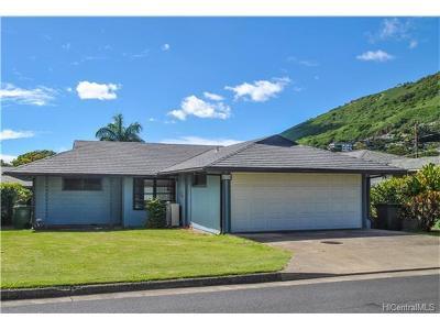 Honolulu Single Family Home For Sale: 2739 Lowrey Avenue