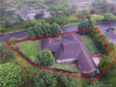 Mililani HI Single Family Home For Sale: $1,100,000