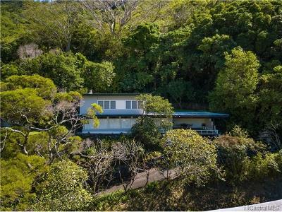 Honolulu Single Family Home For Sale: 3255 Melemele Place