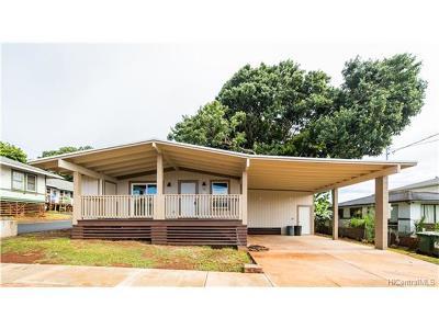 Wahiawa HI Single Family Home For Sale: $630,000