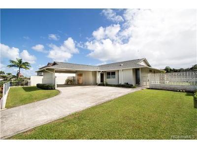 Kaneohe HI Single Family Home For Sale: $880,000