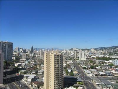 Honolulu Condo/Townhouse For Sale: 2499 Kapiolani Boulevard #2300