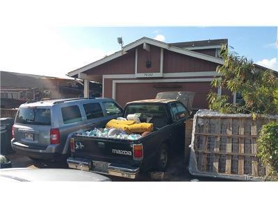 Honolulu County Single Family Home In Escrow Not Showing: 94-102 Kaupu Way