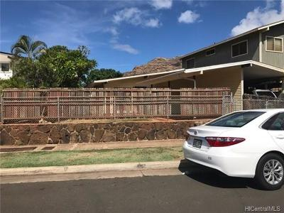 Waianae Single Family Home In Escrow Showing: 84-687 Manuku Street #A