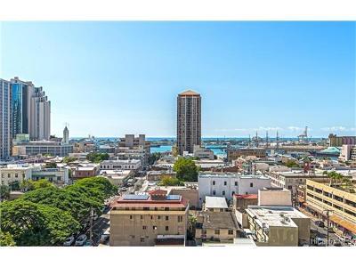 Honolulu Condo/Townhouse For Sale: 60 N Beretania Street #1210