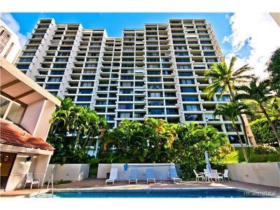 Honolulu County Condo/Townhouse In Escrow Showing: 6710 Hawaii Kai Drive #200