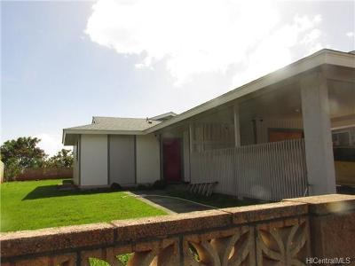 Single Family Home In Escrow Showing: 94-755 Kalae Street