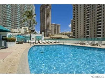 Hawaii County, Honolulu County Condo/Townhouse For Sale: 1777 Ala Moana Boulevard #308