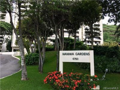 Honolulu County Condo/Townhouse In Escrow Showing: 6750 Hawaii Kai Drive #106