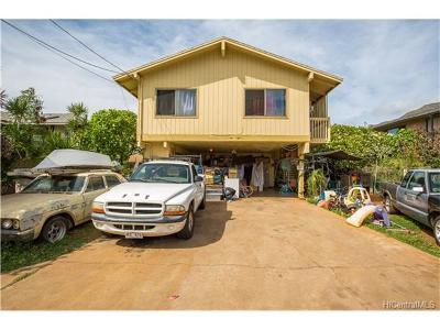 Waianae Single Family Home For Sale: 84-918a Hana Street