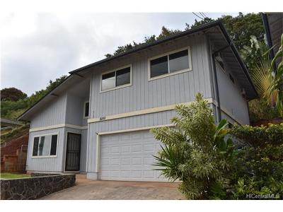 Pearl City Single Family Home For Sale: 2250 Auhuhu Street