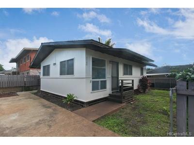 Wahiawa HI Single Family Home For Sale: $375,000