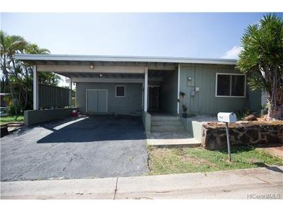 kapolei Single Family Home In Escrow Showing: 92-1132 Hooko Place