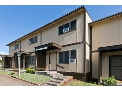 Pearl City Condo/Townhouse In Escrow Showing: 98-1285c Hoohiki Place #12
