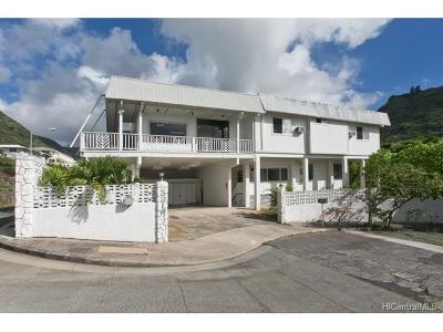 Honolulu County Single Family Home In Escrow Showing: 5216 & 5218 Hao Place