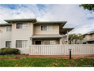 Kapolei Condo/Townhouse For Sale: 91-1036 Kaiau Avenue #10D