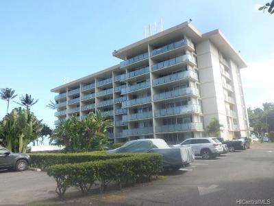 Hauula Condo/Townhouse For Sale: 53-549 Kamehameha Highway #407
