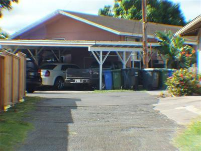 Waipahu Single Family Home In Escrow Showing: 94-046 Nawaakoa Street #A