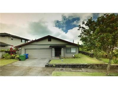 Mililani Single Family Home In Escrow Showing: 95-1025 Kekahi Street #91