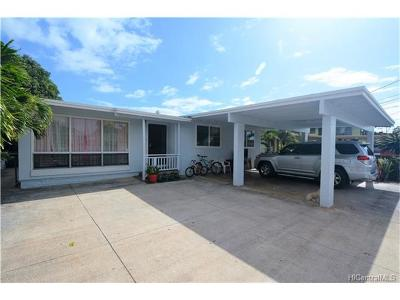 Aiea HI Single Family Home For Sale: $853,888