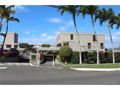 Honolulu Condo/Townhouse For Sale: 217 Prospect Street #F9