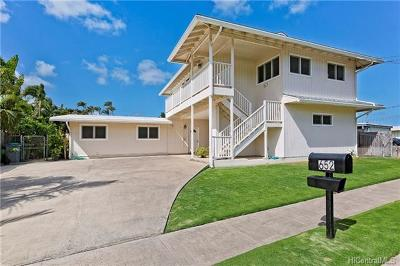 Kailua HI Single Family Home For Sale: $1,449,000