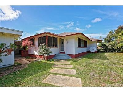 Single Family Home For Sale: 303 N Kalaheo Avenue