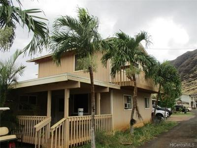 Waianae Rental For Rent: 85-1256 Waianae Valley Road