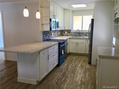 Honolulu County Single Family Home For Sale: 526 W Hind Drive