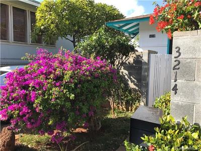 Honolulu HI Single Family Home For Sale: $1,150,000