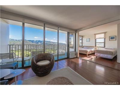 Honolulu HI Condo/Townhouse For Sale: $619,000